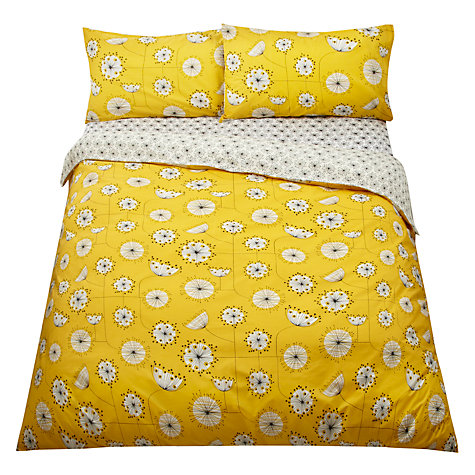 MissPrint Dandelion Bedding Set in Yellow