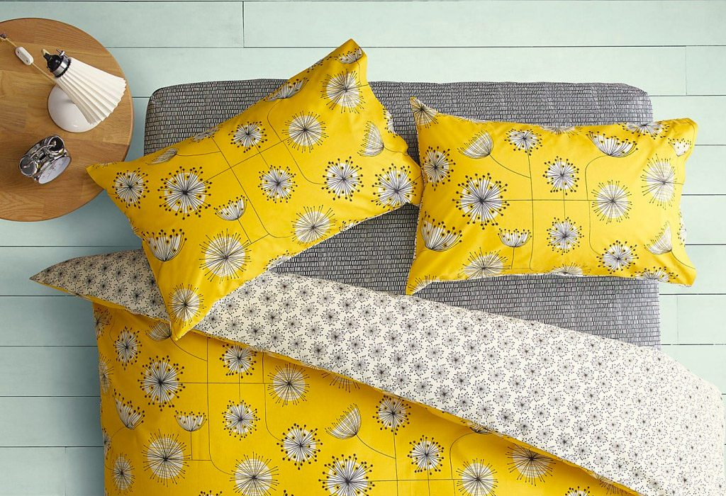 Missprint bedding: perfect for eclectic-style bedrooms
