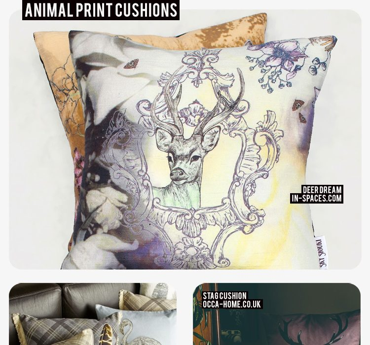 Friday Five: Animal Print Cushions
