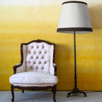 Yellow Dip Dye Wallpaper