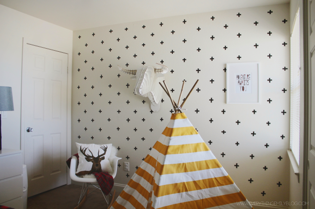 Washi Tape Wall Decal - © everythingemilyblog.com