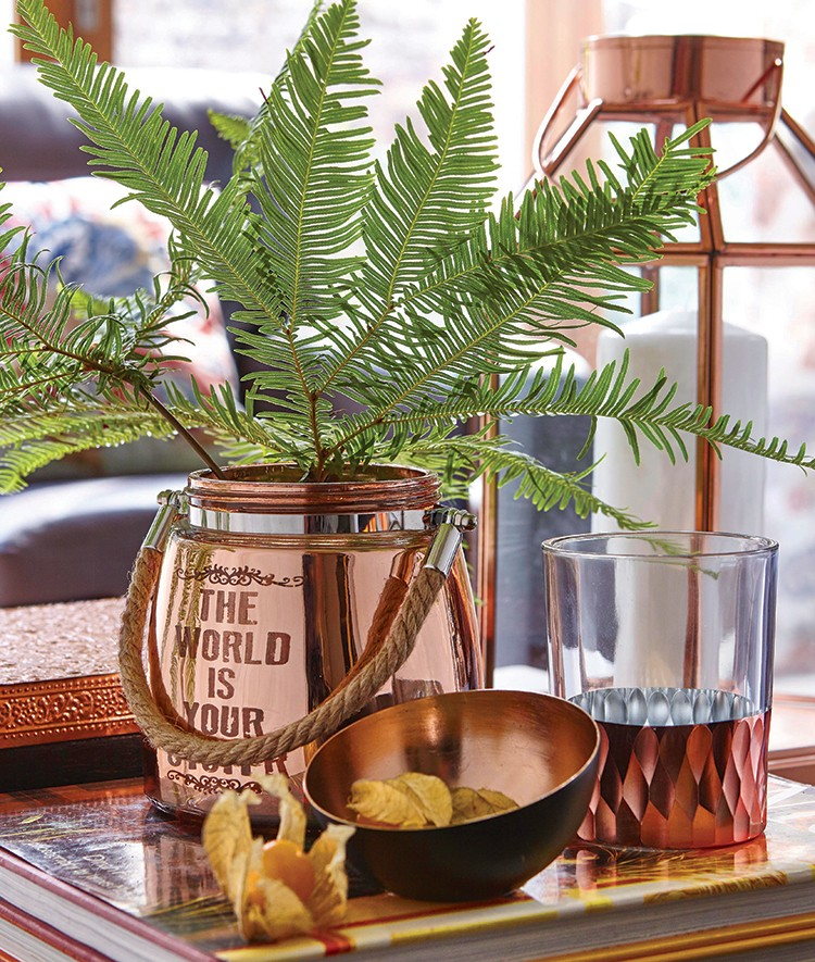 Copper Home Accessories by Dunelm