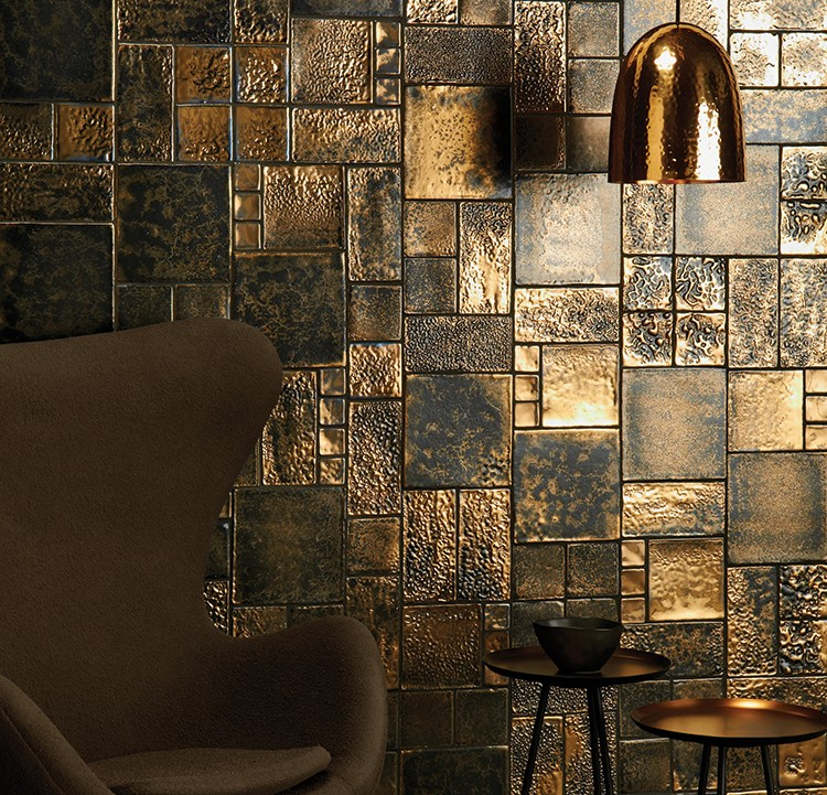 Roman gold tiles mix winchestertiles.com