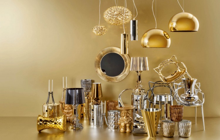 Bold as brass using metallics in your home decor for Brass home decor