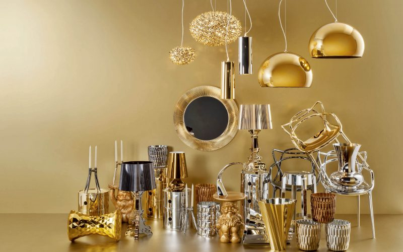 Bold as brass:  using metallics in your home decor
