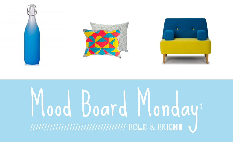 Bold and bright room accessories