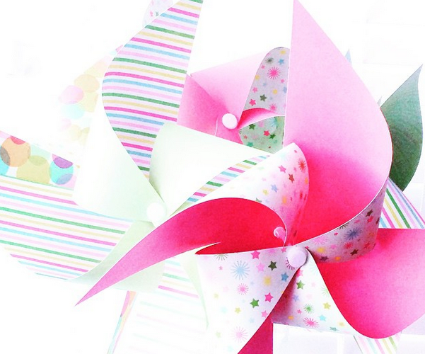 Martha Stewart Crafts pinwheel kit review