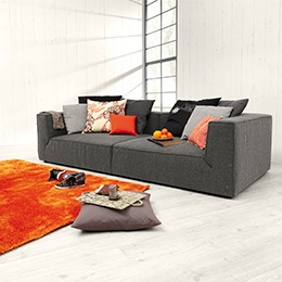 Grey And Orange Living Room Colour Scheme