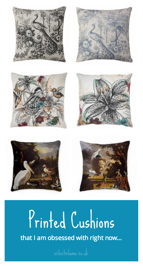 Printed cushions from WITHIN