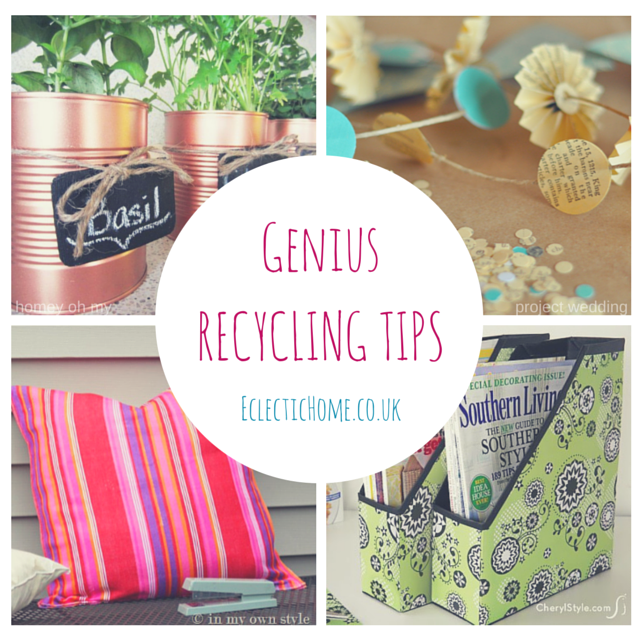 GENIUS RECYCLING TIPS