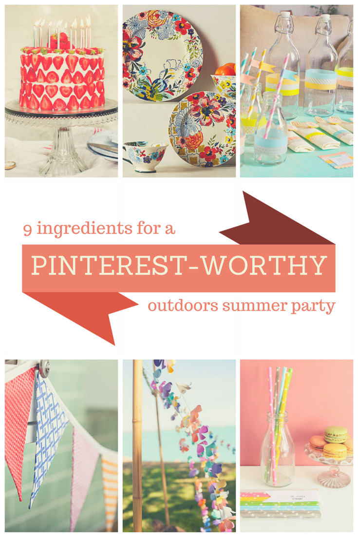 Find out my 9 essential ingredients for a Pinterest-worthy outdoor party this summer  | PLEASE DO NOT REMOVE THIS NOTICE: all images © to their respective owners and original sources available at EclecticHome.co.uk