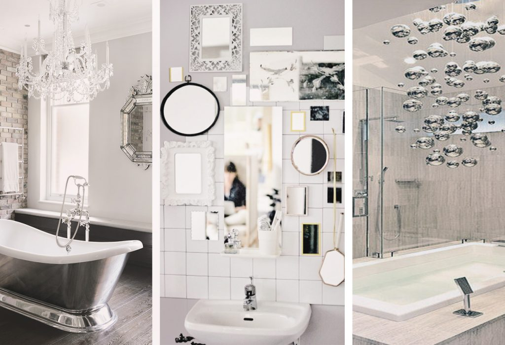 Glam & luxe bathroom ideas