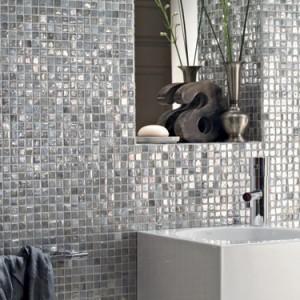 shimmering tiles
