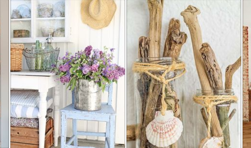 My perfect summer bathroom: bright, breezy, rustic-coastal